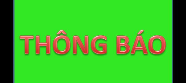 ẢNH THÔNG BÁO
